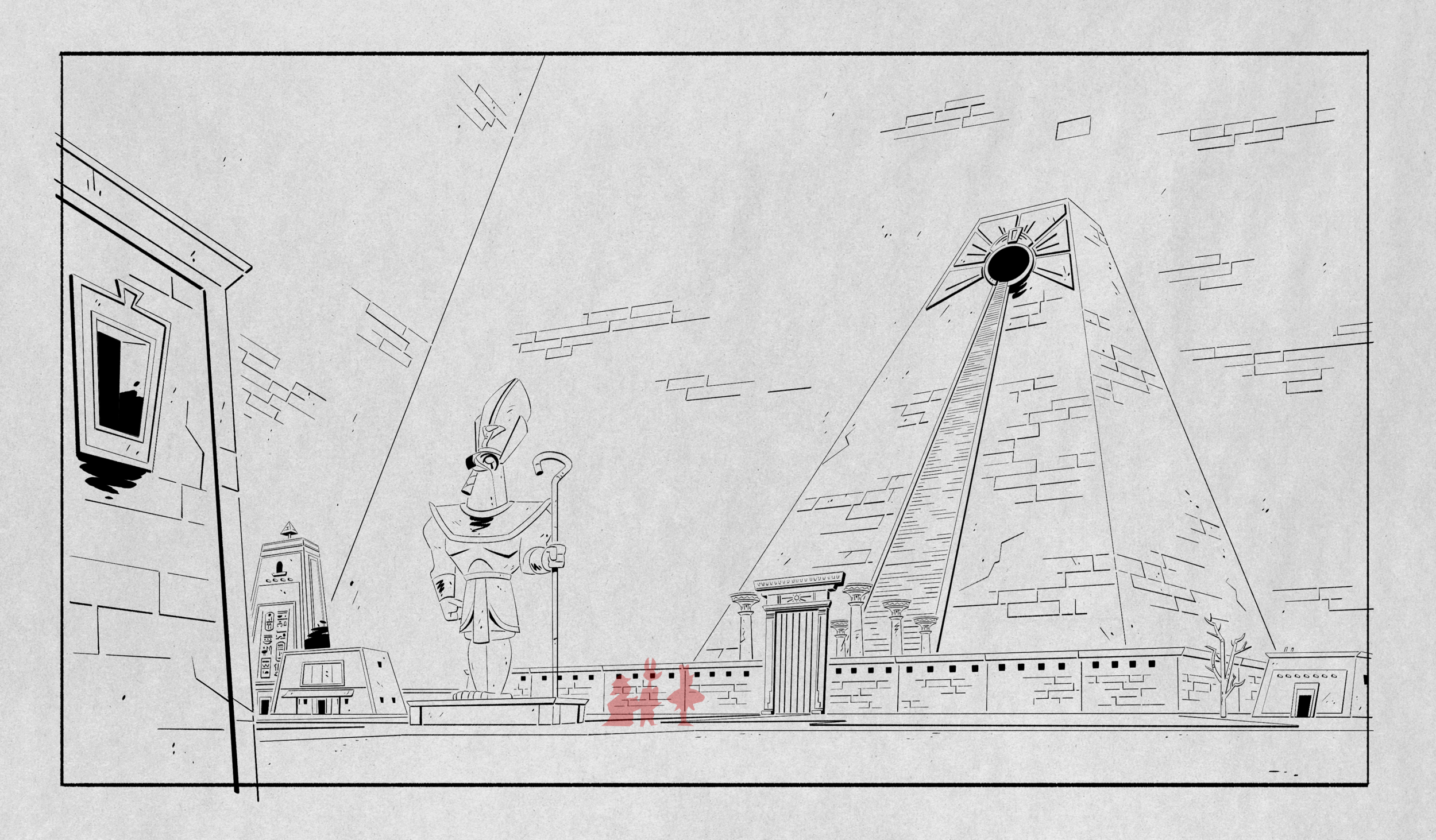 Layout for episode 9.