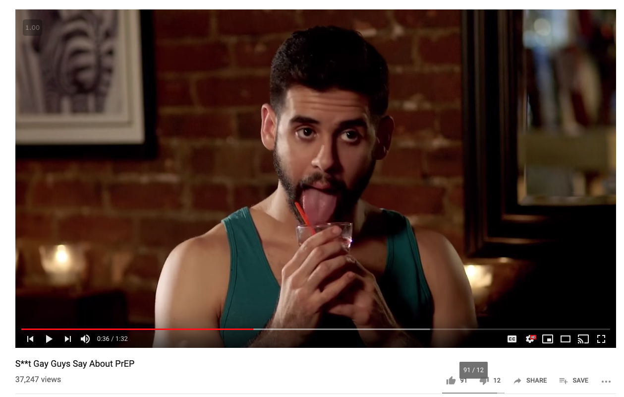 """You can make a parody of a popular internet meme… - This video, """"Sh*t gay guys say"""" is a parody of a funny video called """"Sh*t girls say.."""" that went viral a few years ago."""