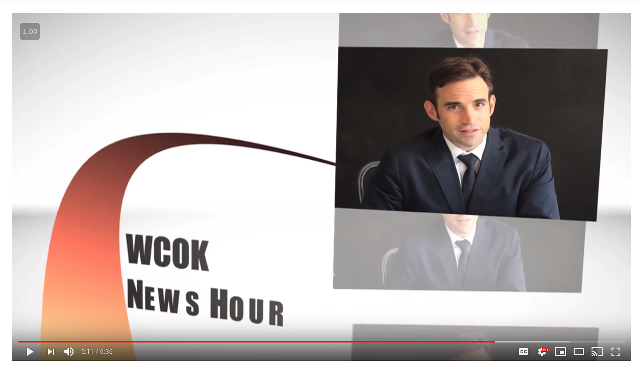 """You can make a news parody… - This just in! You can make a """"fake"""" news show where you """"report"""" on any topic you want… Think Jon Stewart, or SNL's Weekend Update. Maybe you don't know what those are, but you get this idea…"""