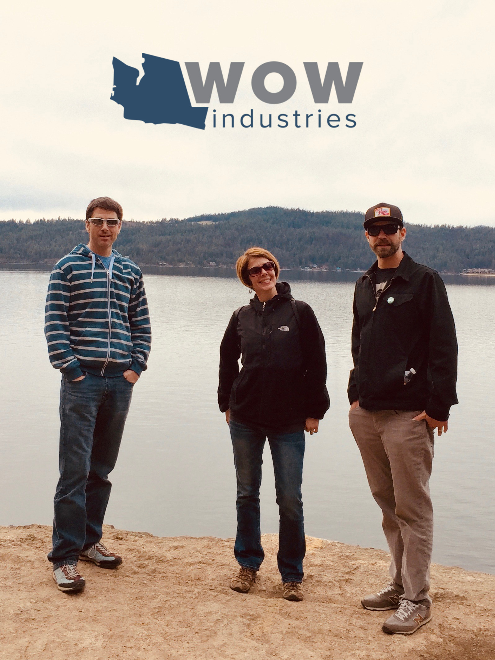 Cole Beaman, Jenn and Lance Lorz - Wow-Industries