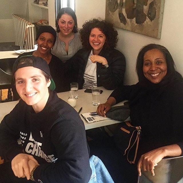 #TBT to when these movers and shakers of the culinary and social justice universe joined us for brunch. Please follow, support, advocate, and participate! @turshen @hawa_22 @basbaassauce @devita_davison @foodlabdetroit @drivechangenyc