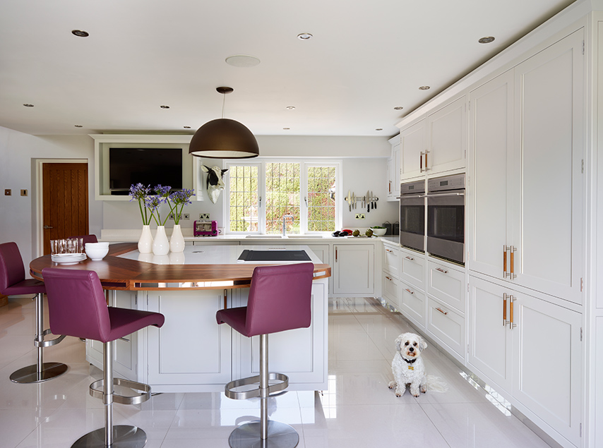 Belgravia, a classically styled kitchen, ideal for a period property.
