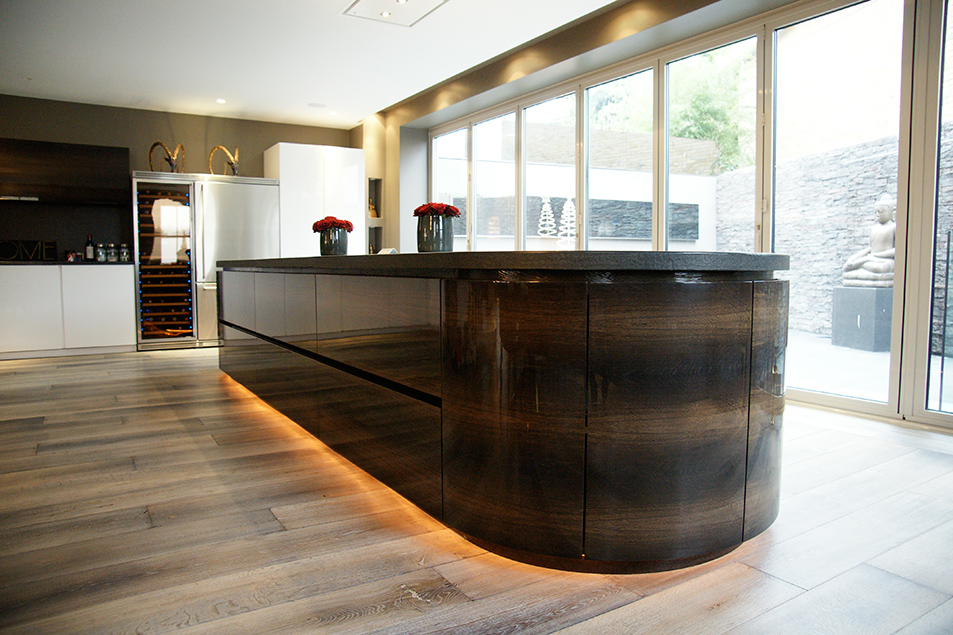 Plinth lighting is especially effective at night time or when light levels are low.