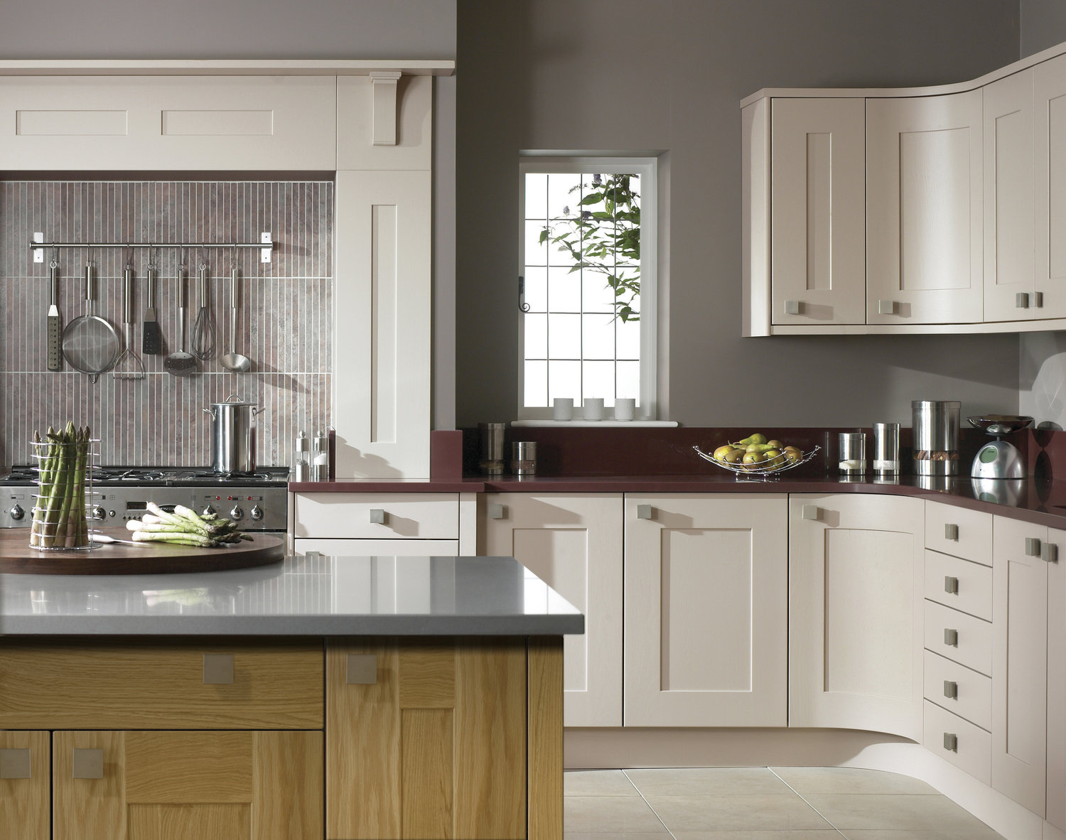 stainless steel handles co-ordinate through to the cooker and accessories…