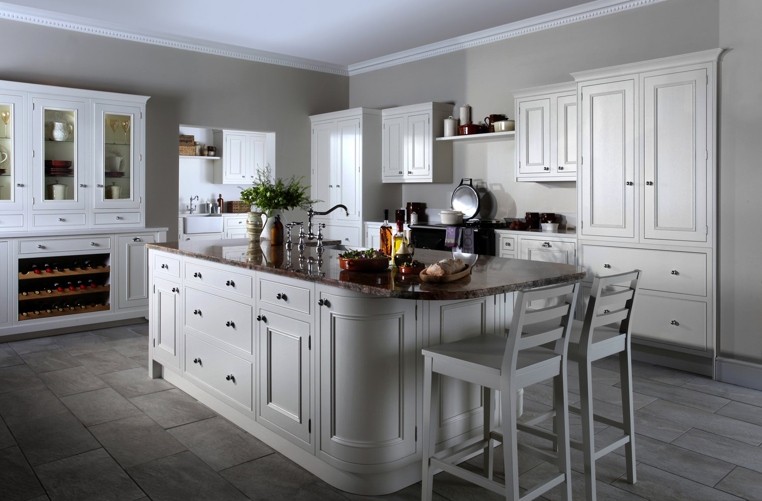 classic english painted, just one of the many kitchen styles we offer.