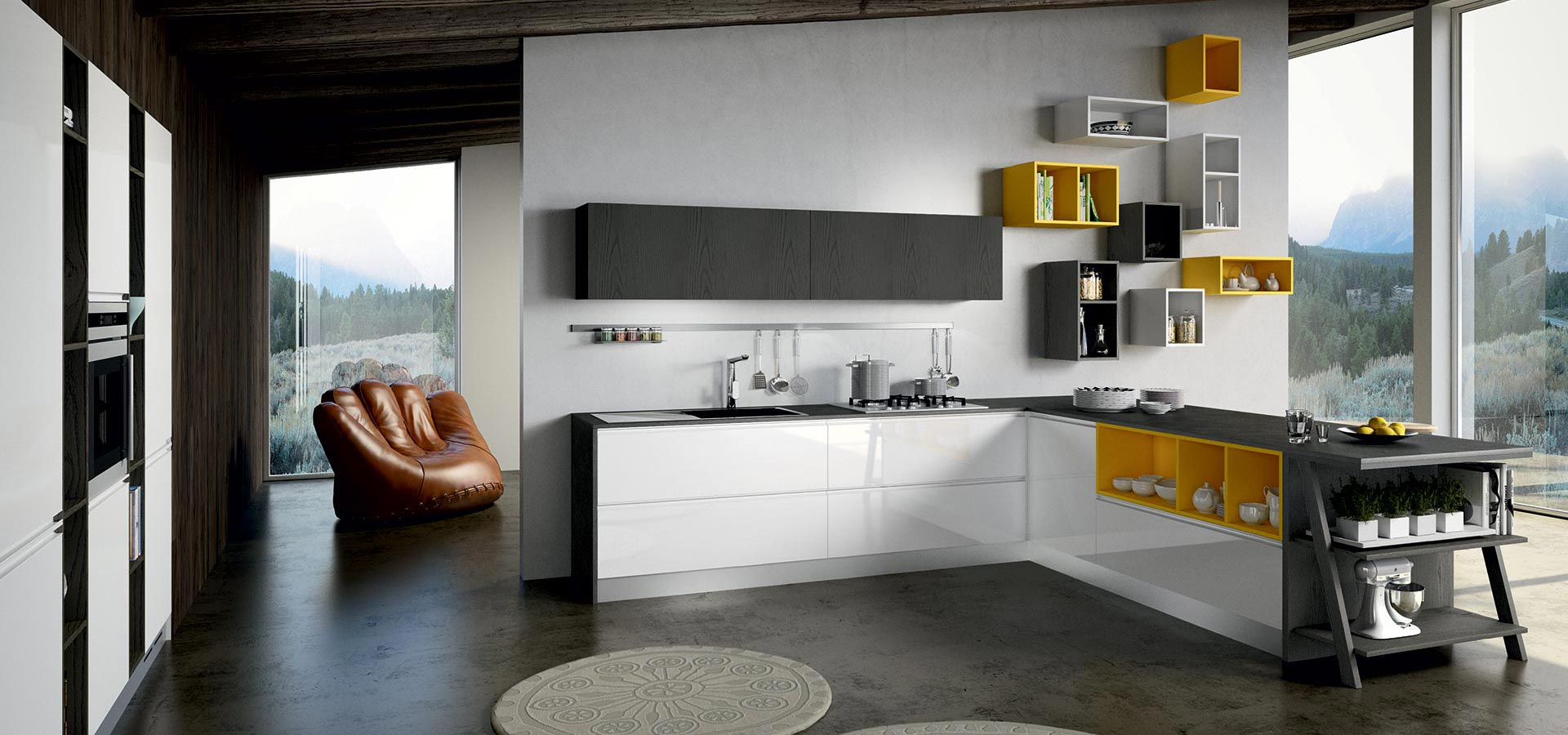 used in the right proportions, vibrant yellow can achieve stunning visual results