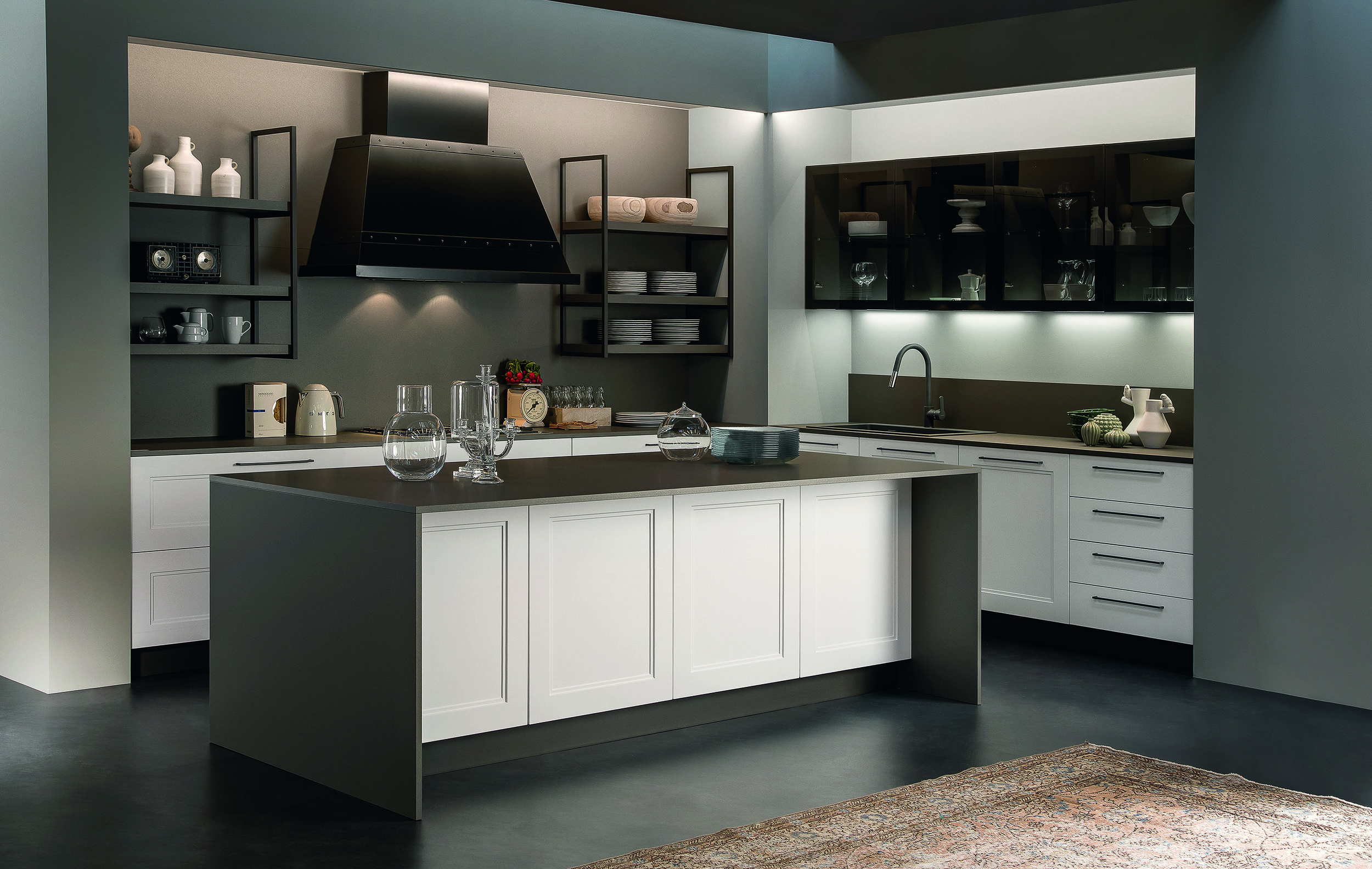 functionality meets beauty in a meg kitchen…
