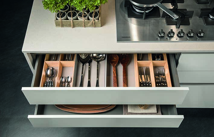 with a ray munn kitchen, even every utensil has a home!