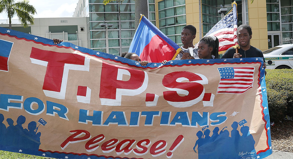 Trump extends legal protection for Haitians in U.S. - Politico | May 22, 2017