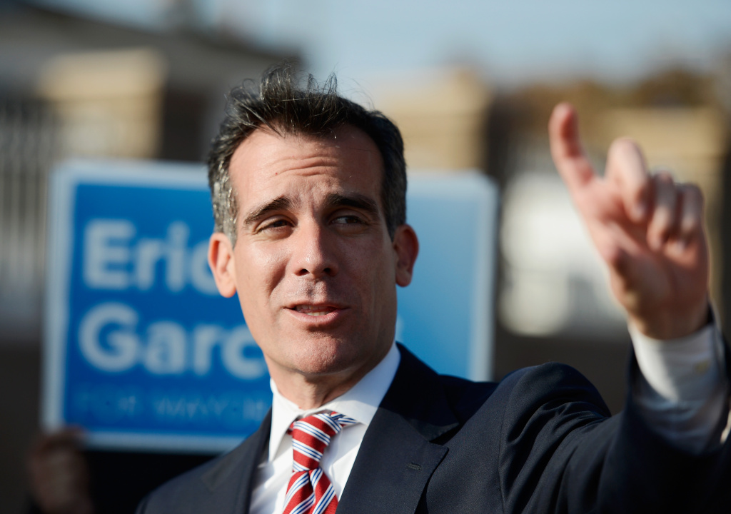 Los Angeles Mayor Eric Garcetti: Give Dreamers chance my grandfather had - CNN | December 6, 2017