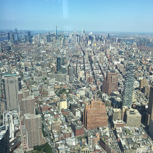 spectacular views and an awesome lunch at the @oneworldnyc observatory