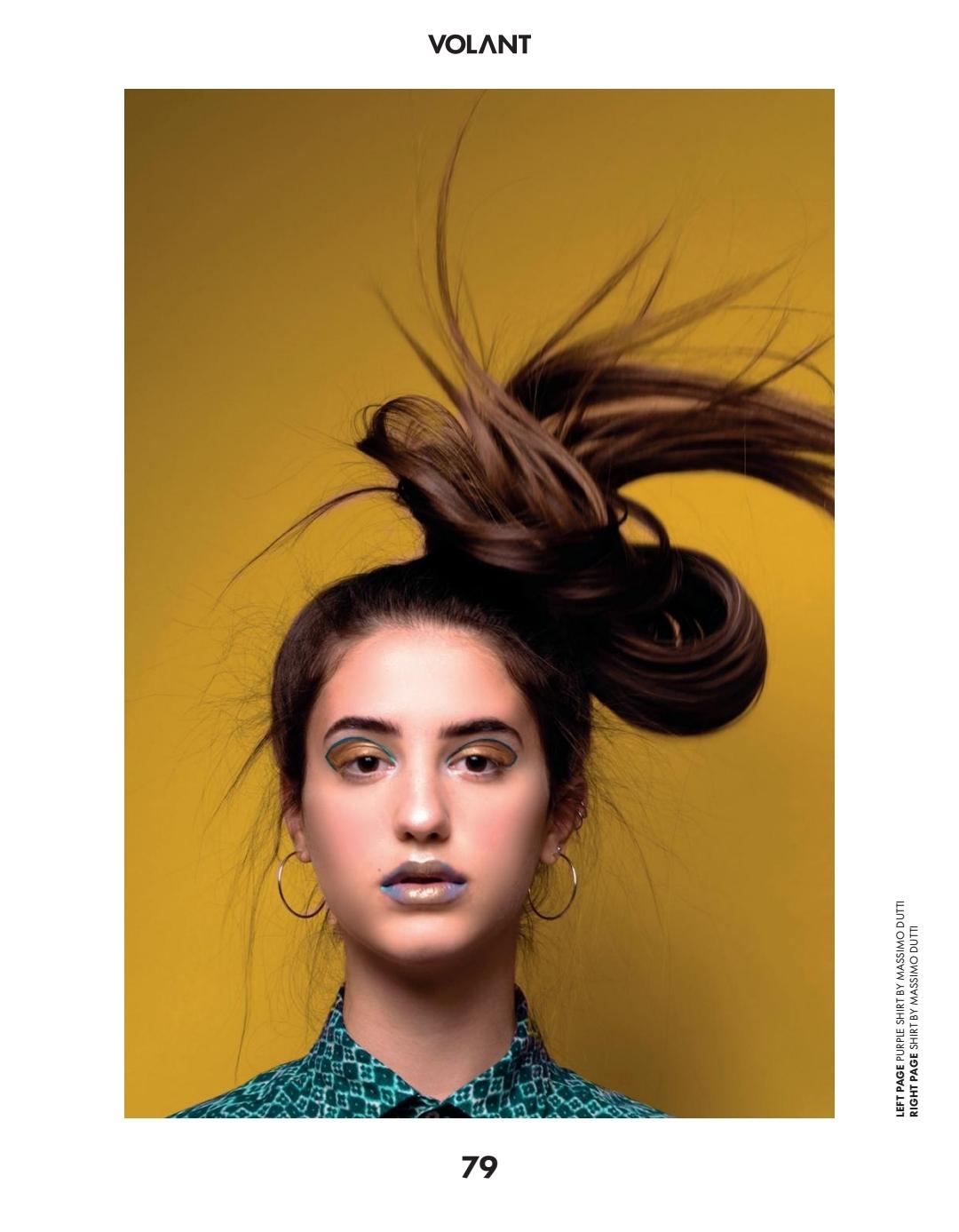 [Model: Sara Geha]
