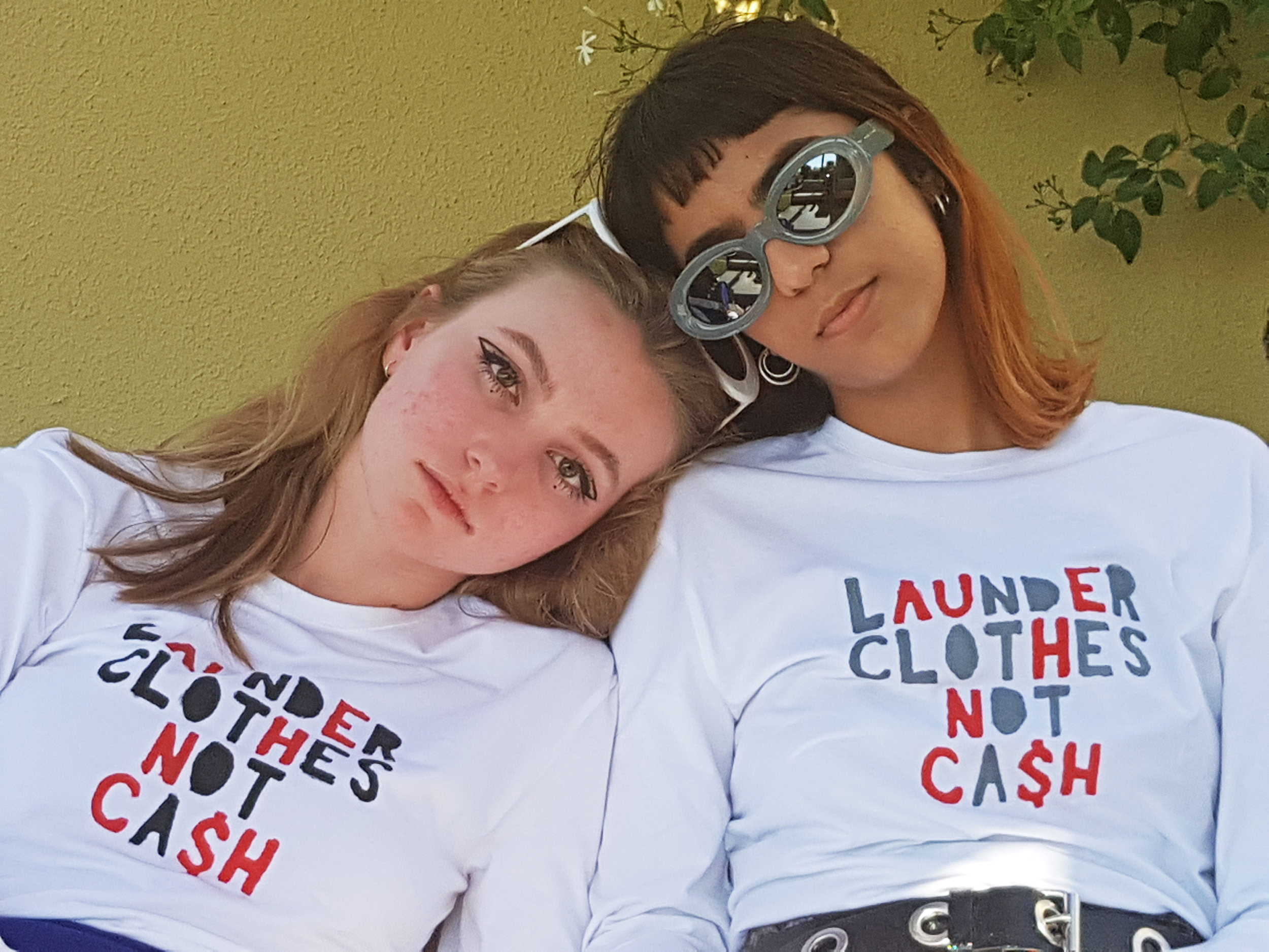 LAUNDER CLOTHES NOT CASH