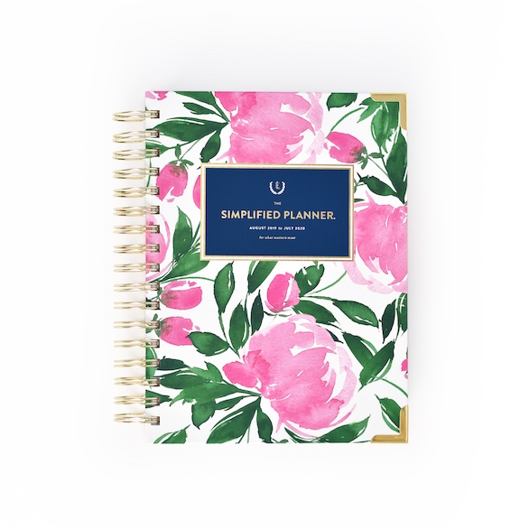 Garden Party Daily Simplified Planner| $58 -