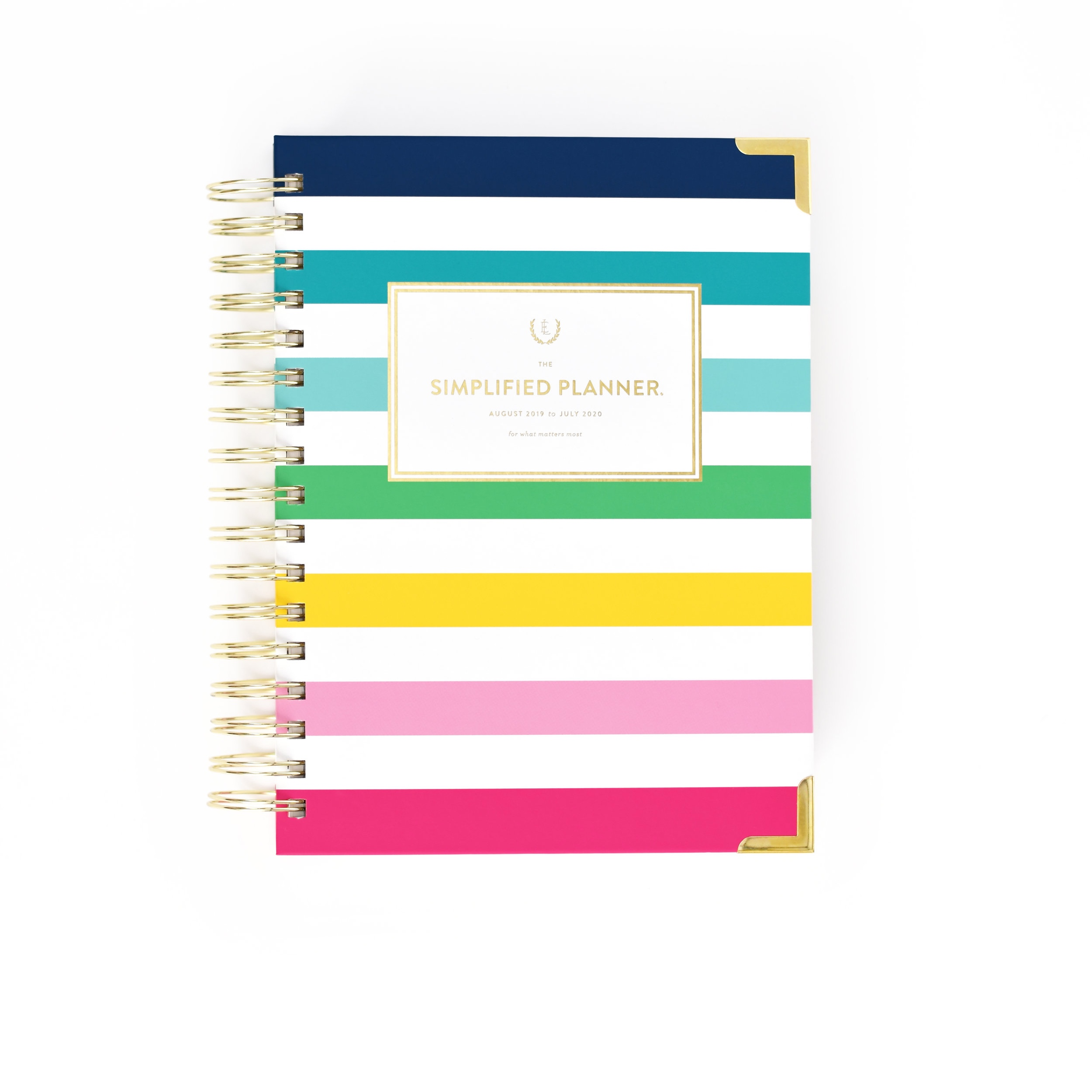 Happy Stripe Daily Simplified Planner | $58 -