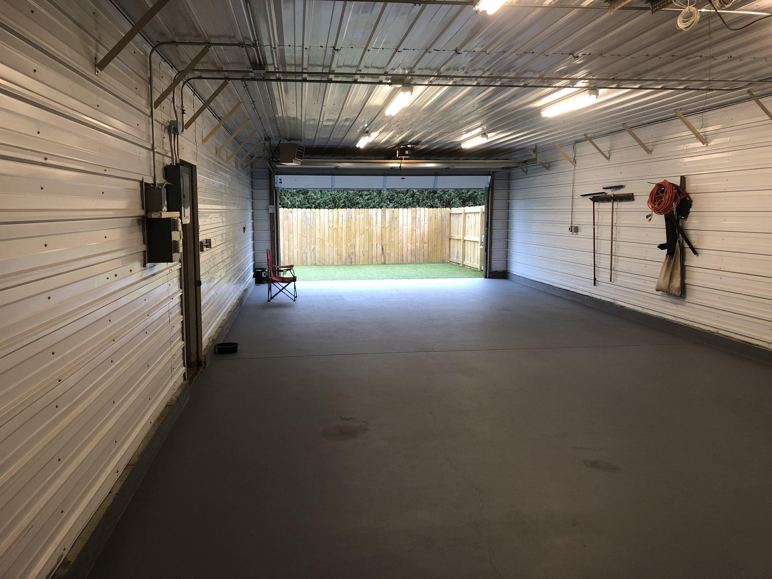 Indoor/Outdoor Play Area