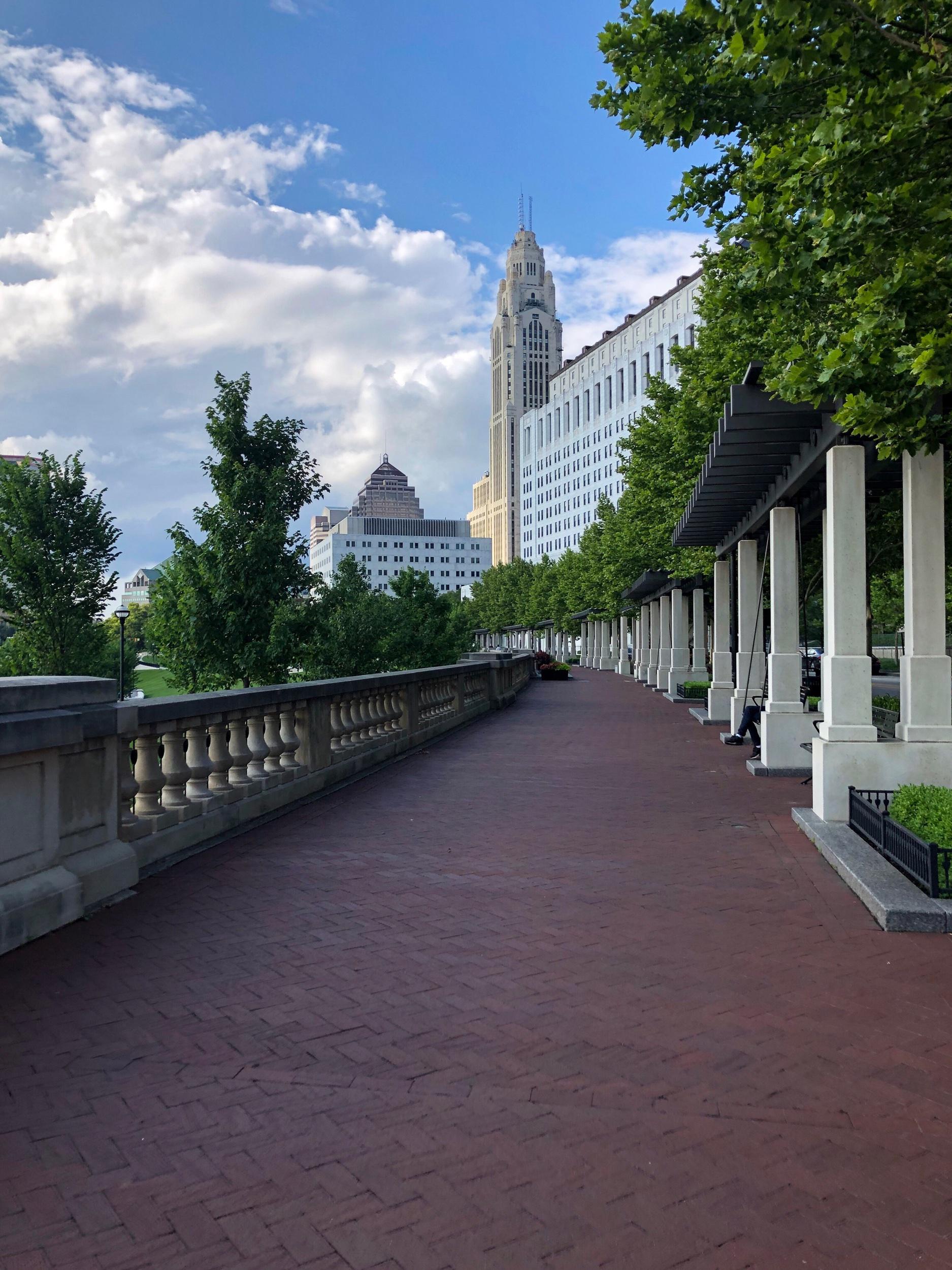 Columbus Skyline - The Mahogany Way