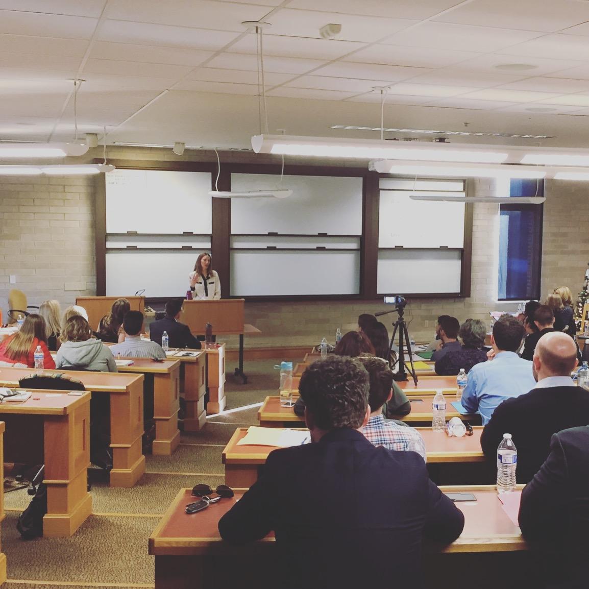Wellness talk at the university of denver