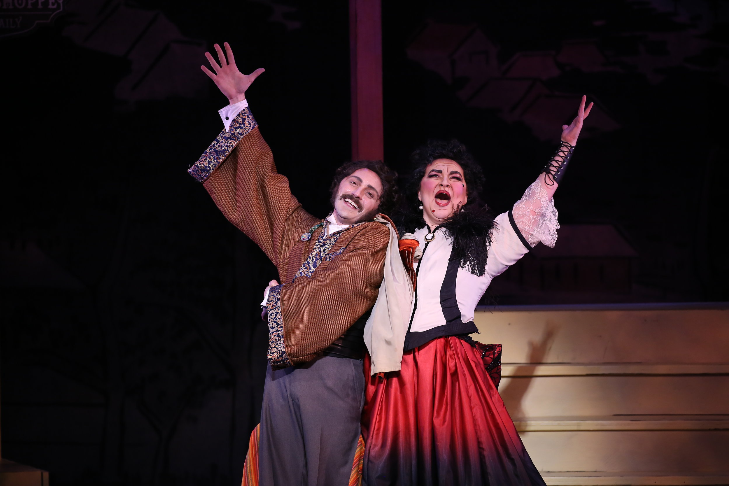 'Til day is done  - David Macaluso and Caitlin Burke