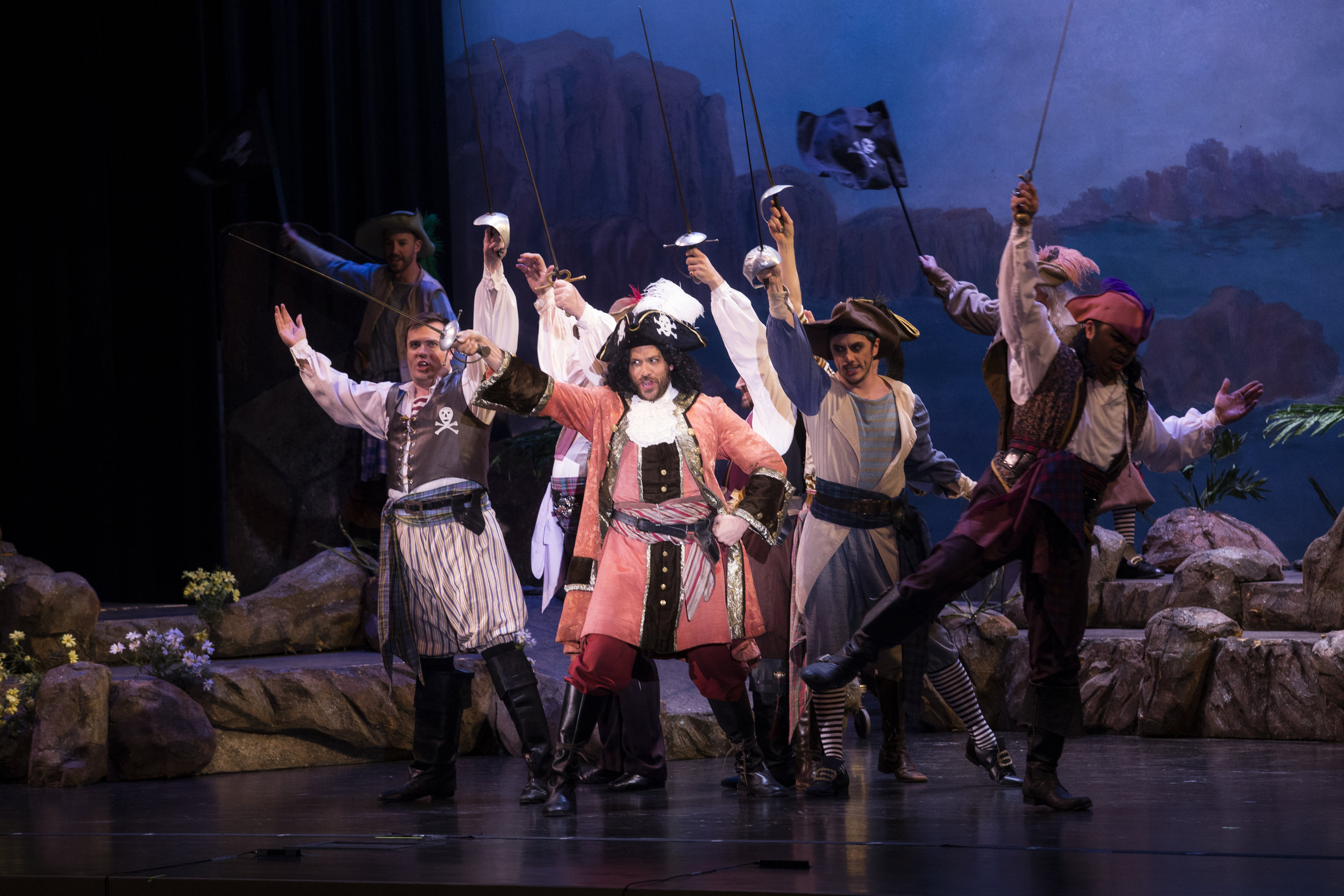 For I am a Pirate King  - David Wannen and Men's Ensemble ( photo by William Reynolds )