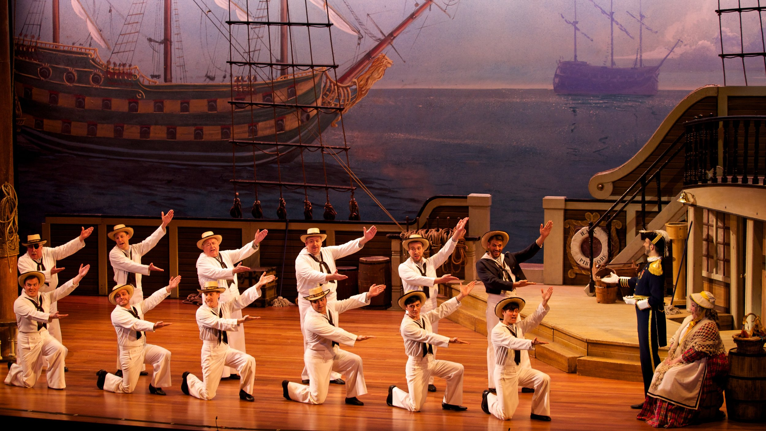 I am the captain of the Pinafore  - David Auxier and Men's Ensemble