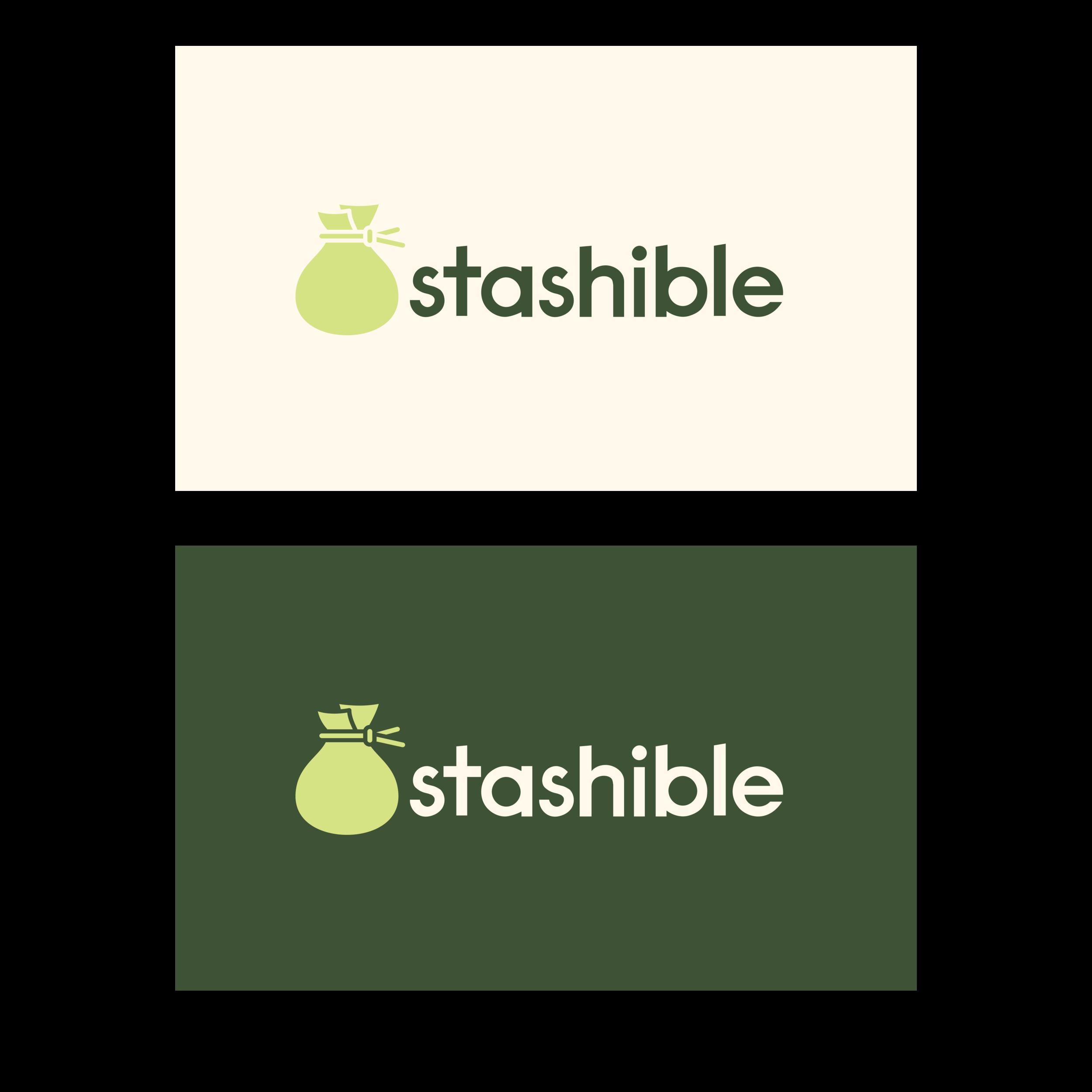stashible logo redesign