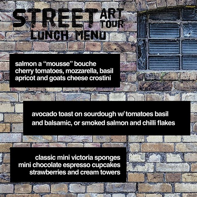 Just a few tickets left for the @eastcroydoncool @risegallery street art tour followed by a bottomless prosecco lunch here @crushedbeancroydon this Saturday Come for the tour and stay for the food (and prosecco obvs!) Get your ticket now by going to @eastcroydoncool Tickets are £35