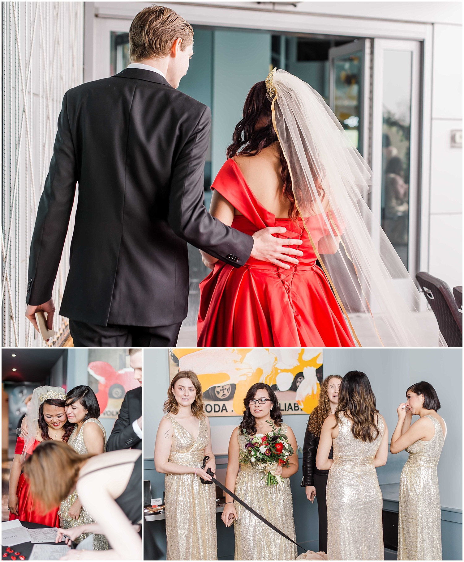 intimate wedding in hoboken new jersey at the W Hotel