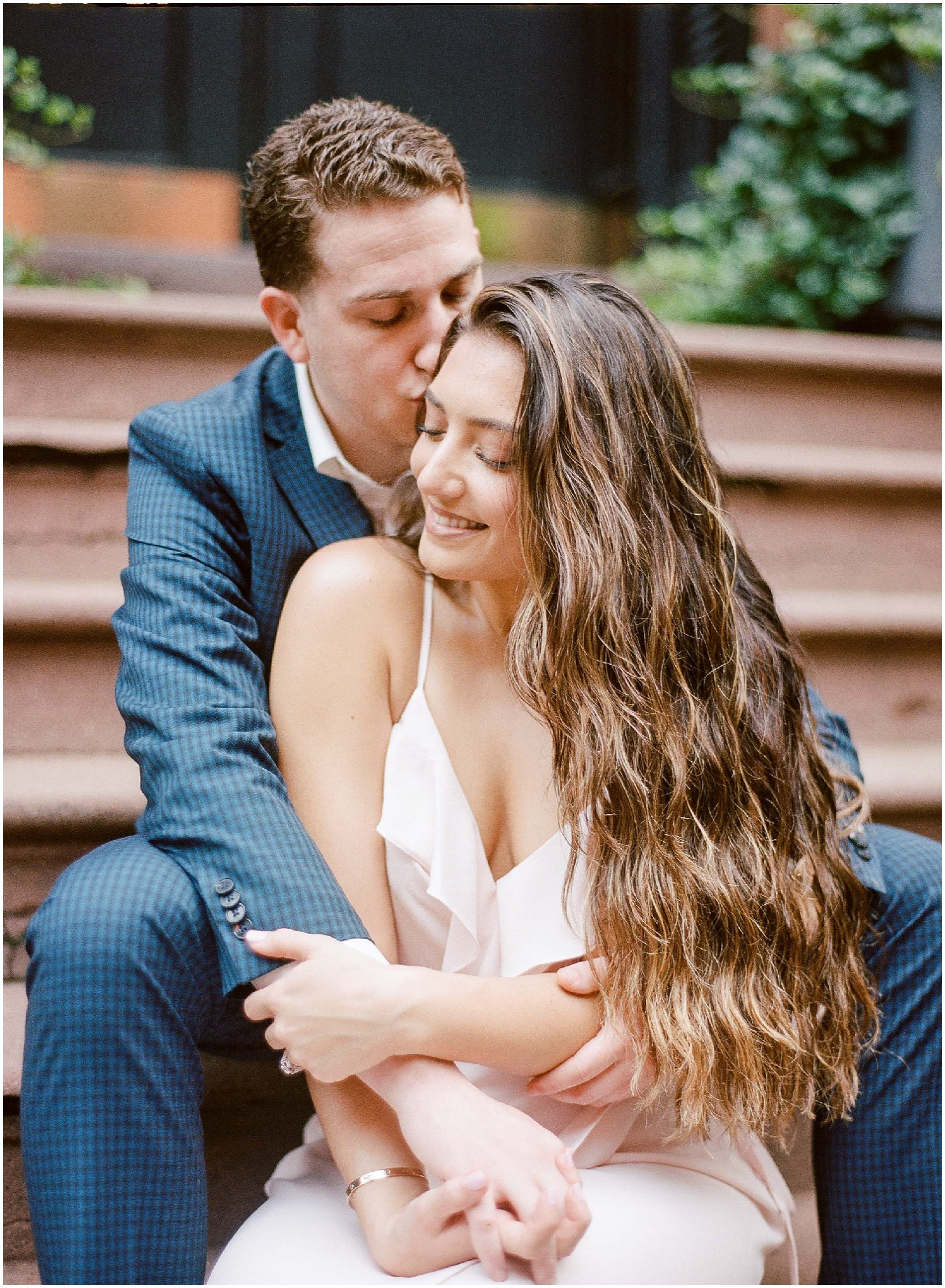 new york city_east village_photography_engagement session_young happy couple in love