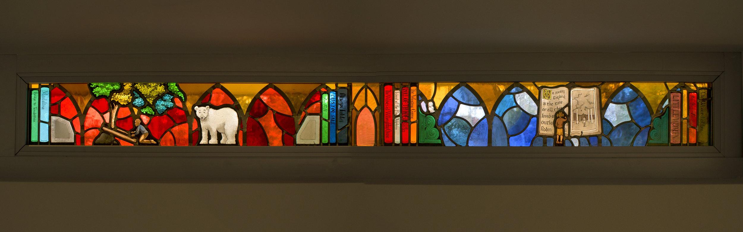Explore Panel 3, Lovett Library, Philadelphia