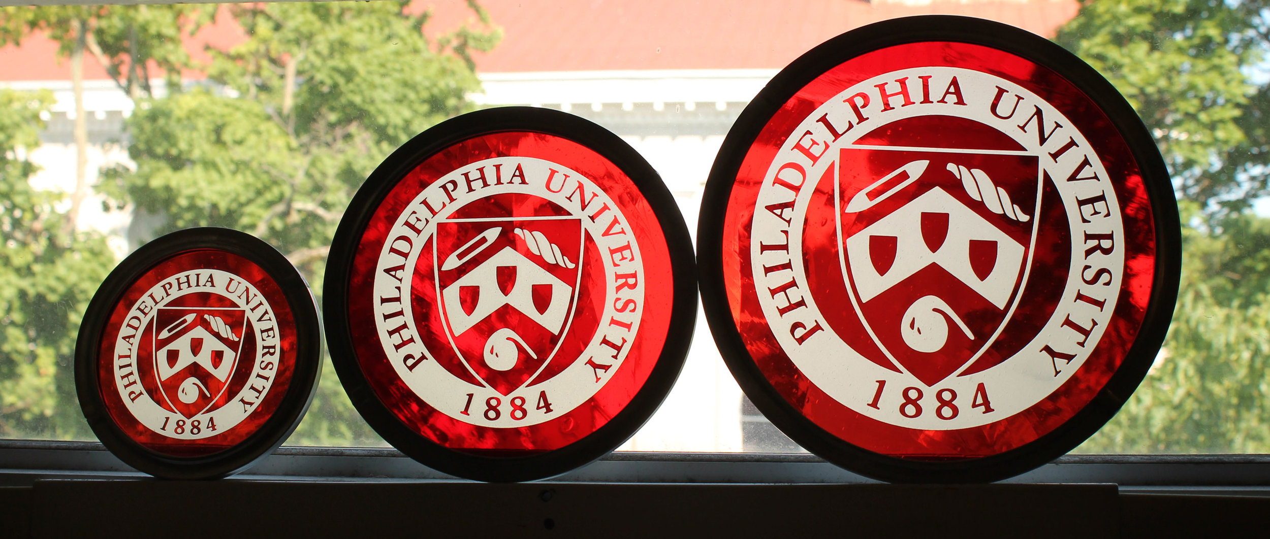 Custom College Crest Philadelphia University