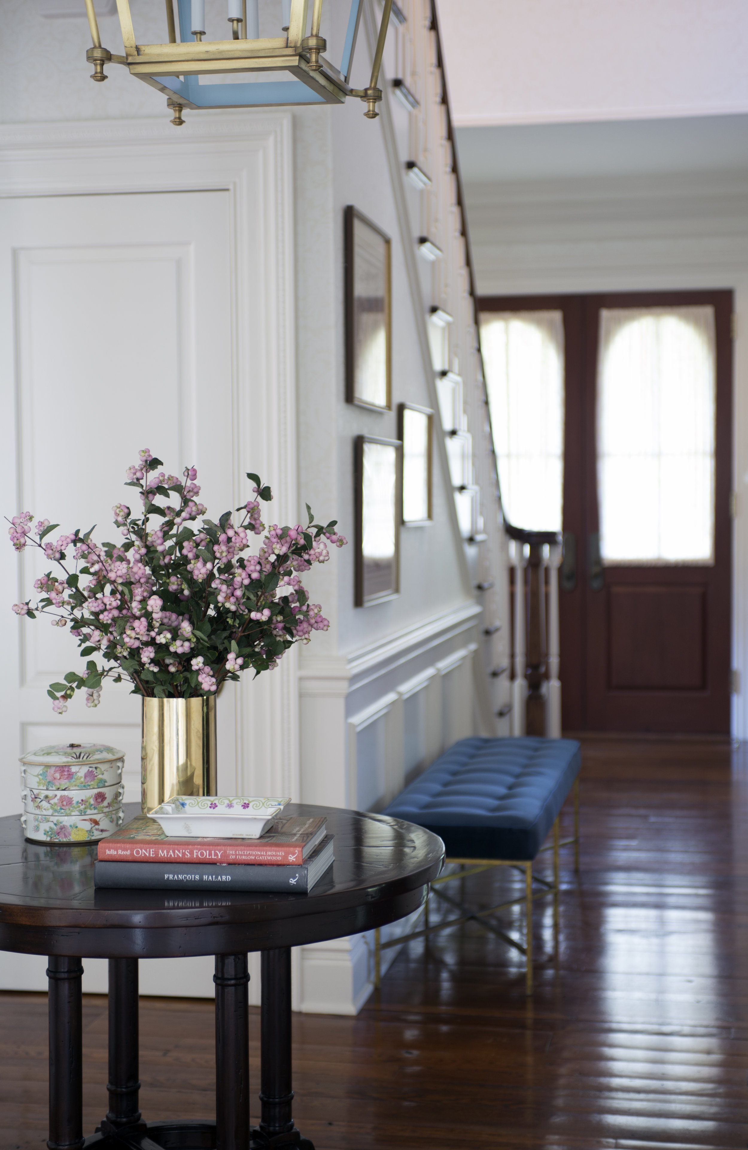 foyer and stair shallow focus and books5845.jpg