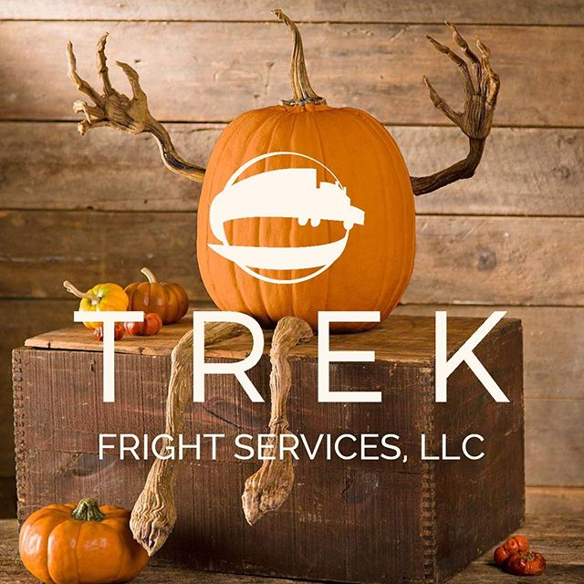 For the rest of October, please refer to us as Trek FRIGHT Services, LLC • • • #spookyseason #fright #logistics #3pl