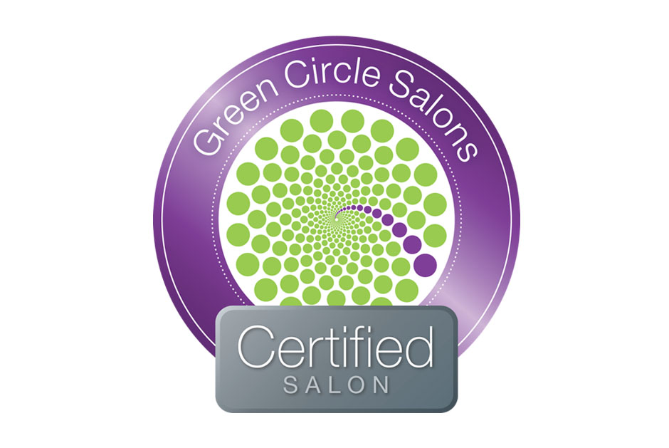 Freya is certified. - We are proud to partner with the Green Circle Salons' movement of keeping beauty sustainable.
