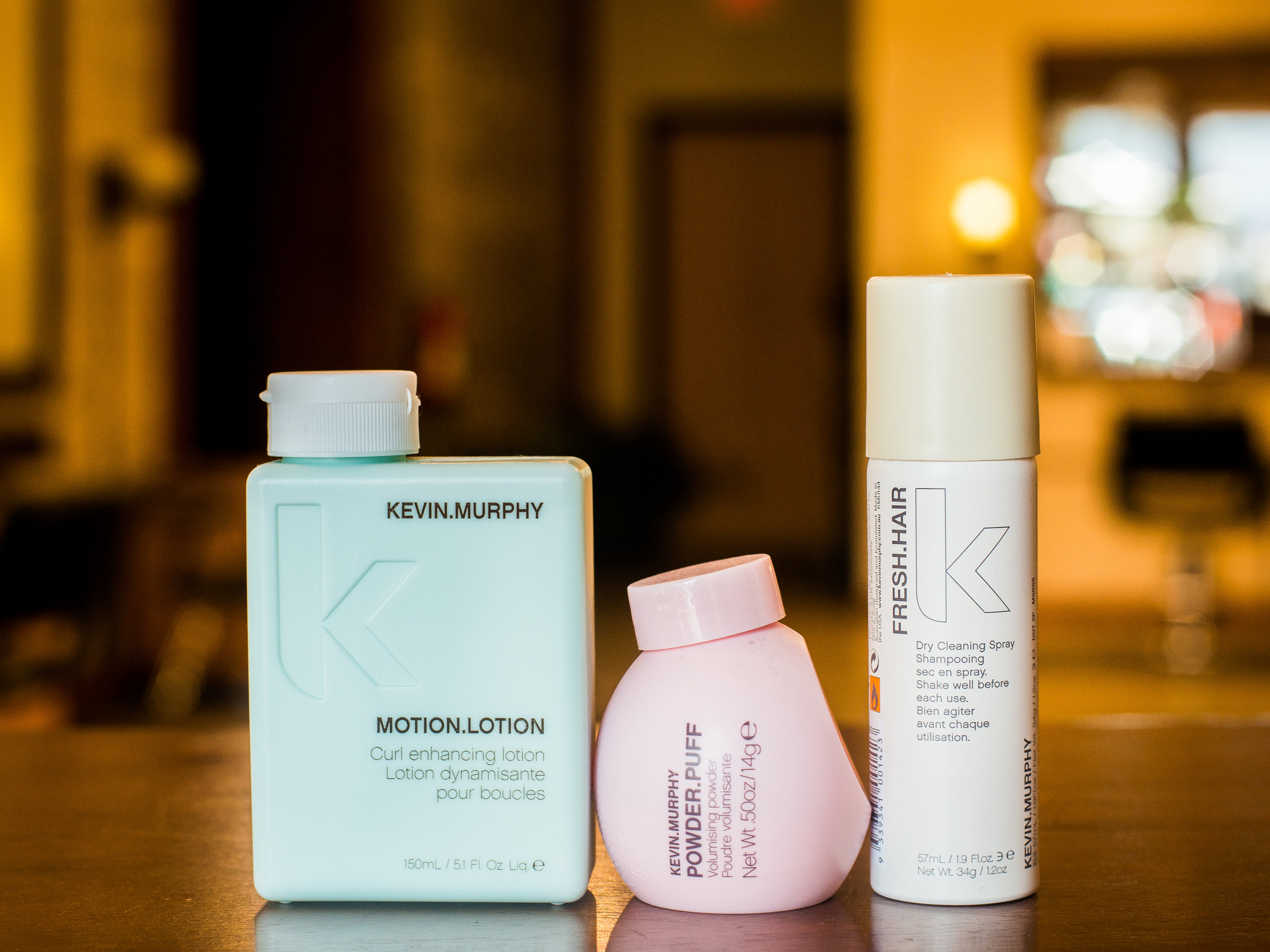 SKINCARE FOR YOUR HAIR - Born from the same philosophy as skincare, KEVIN.MURPHY products are weightlessly designed to deliver performance, strength and longevity. Freya also uses Color.Me by KEVIN.MURPHY which is an artful blend of gentle and