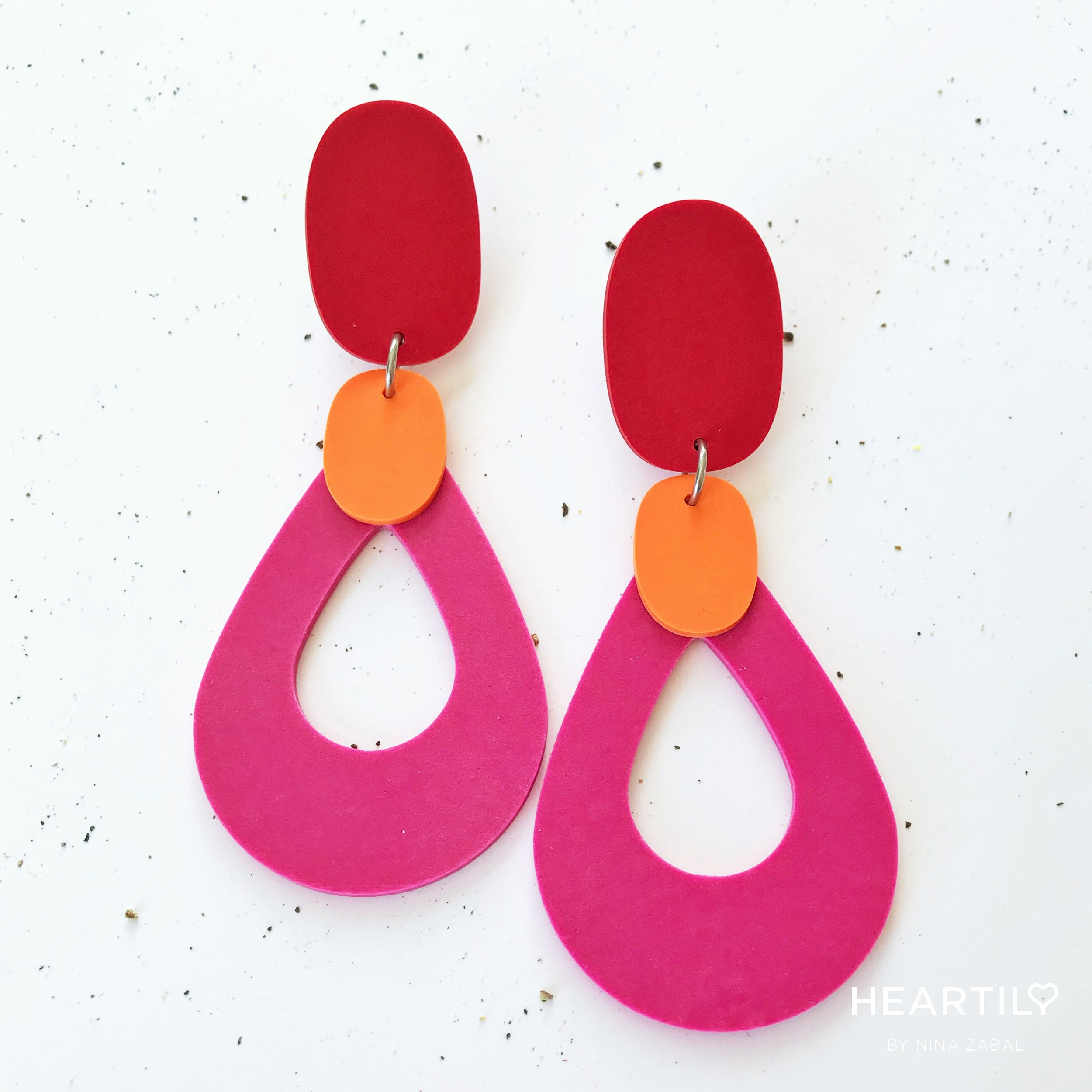 HEARTILY Cherry Kiss Collection    RED / PINK / ORANGE