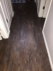 LVT Flooring has superior cleaning ability allowing you to use less chemicals in your home.