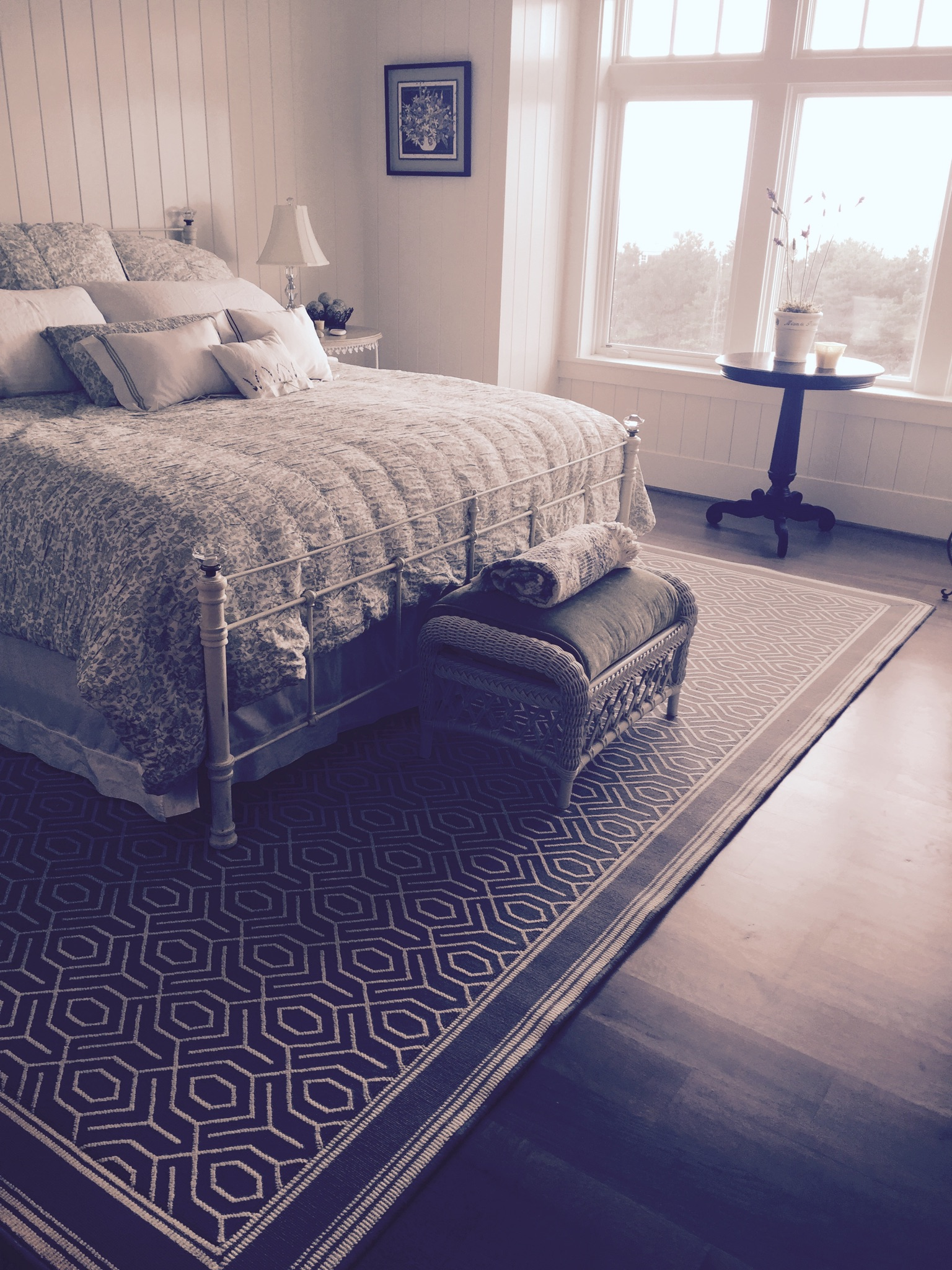 Custom Stark Bedroom Rug