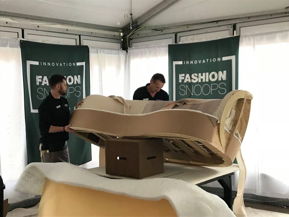 Creating a Norwalk Sofa