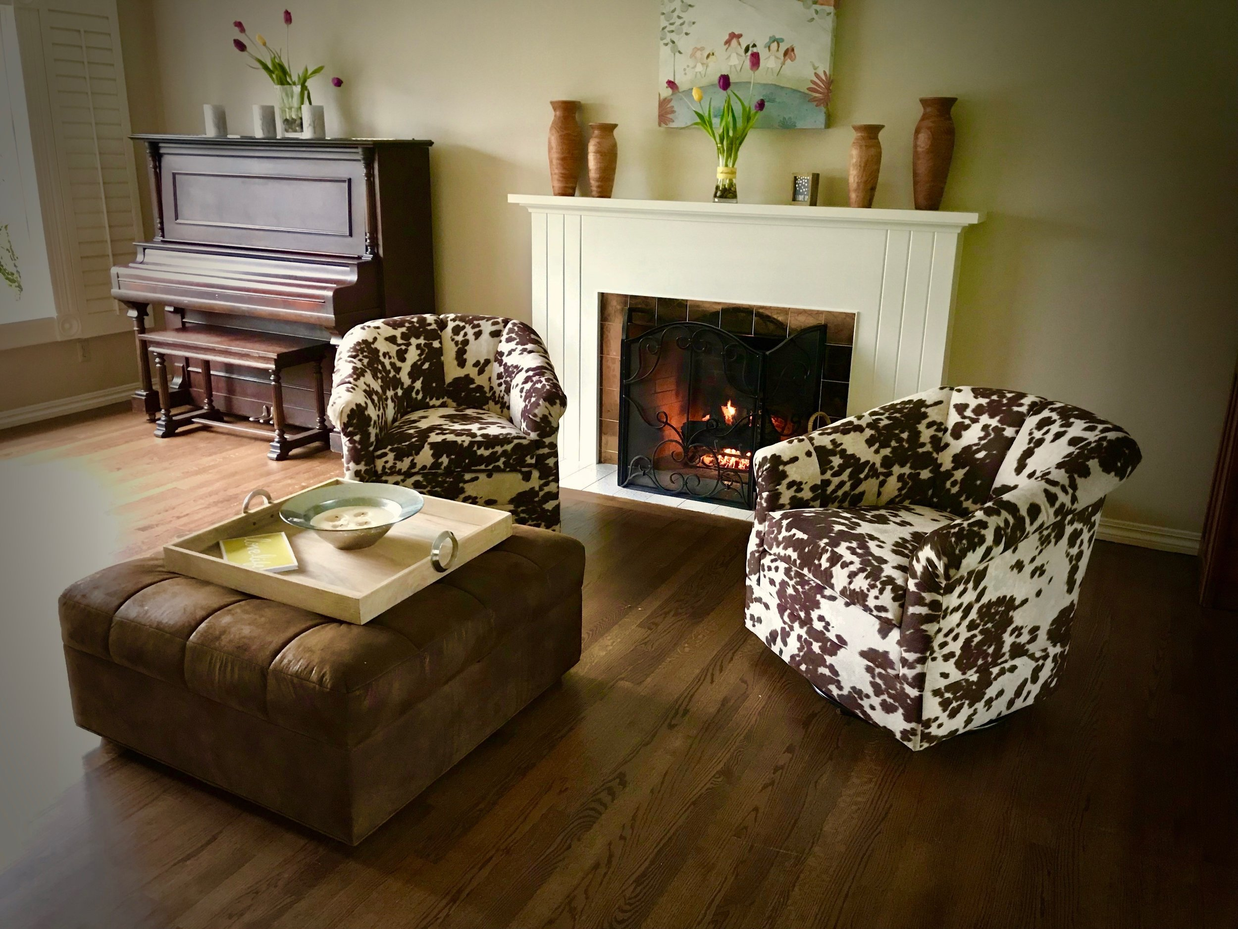 Sophie Swivel Glider Chairs