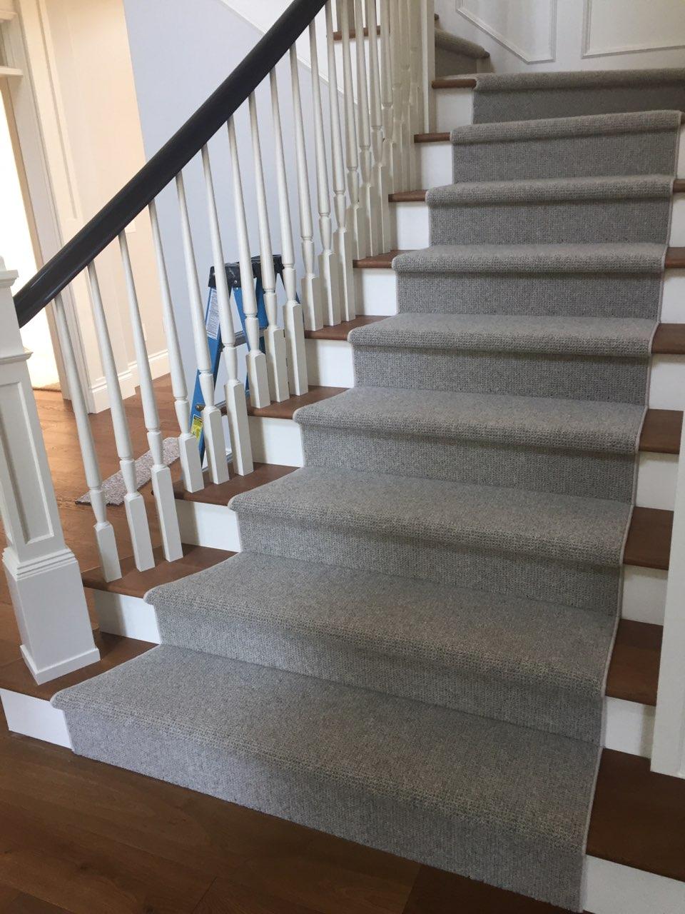 Custom Wool stair Runner