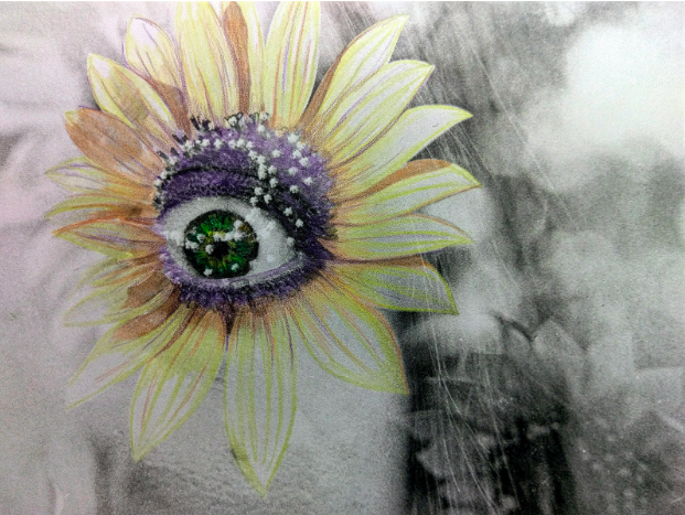 IN BLOOM | HAND COLORED SILVER GELATIN PRINT | 8X10