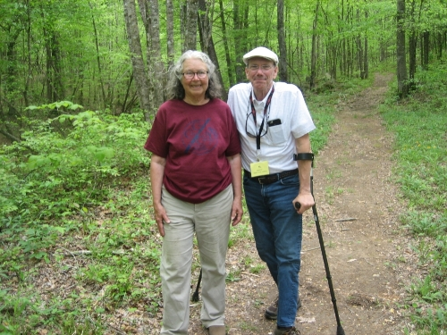 Faye Lacefield - Cane Creek Canyon Preserve owner. What lovely people!