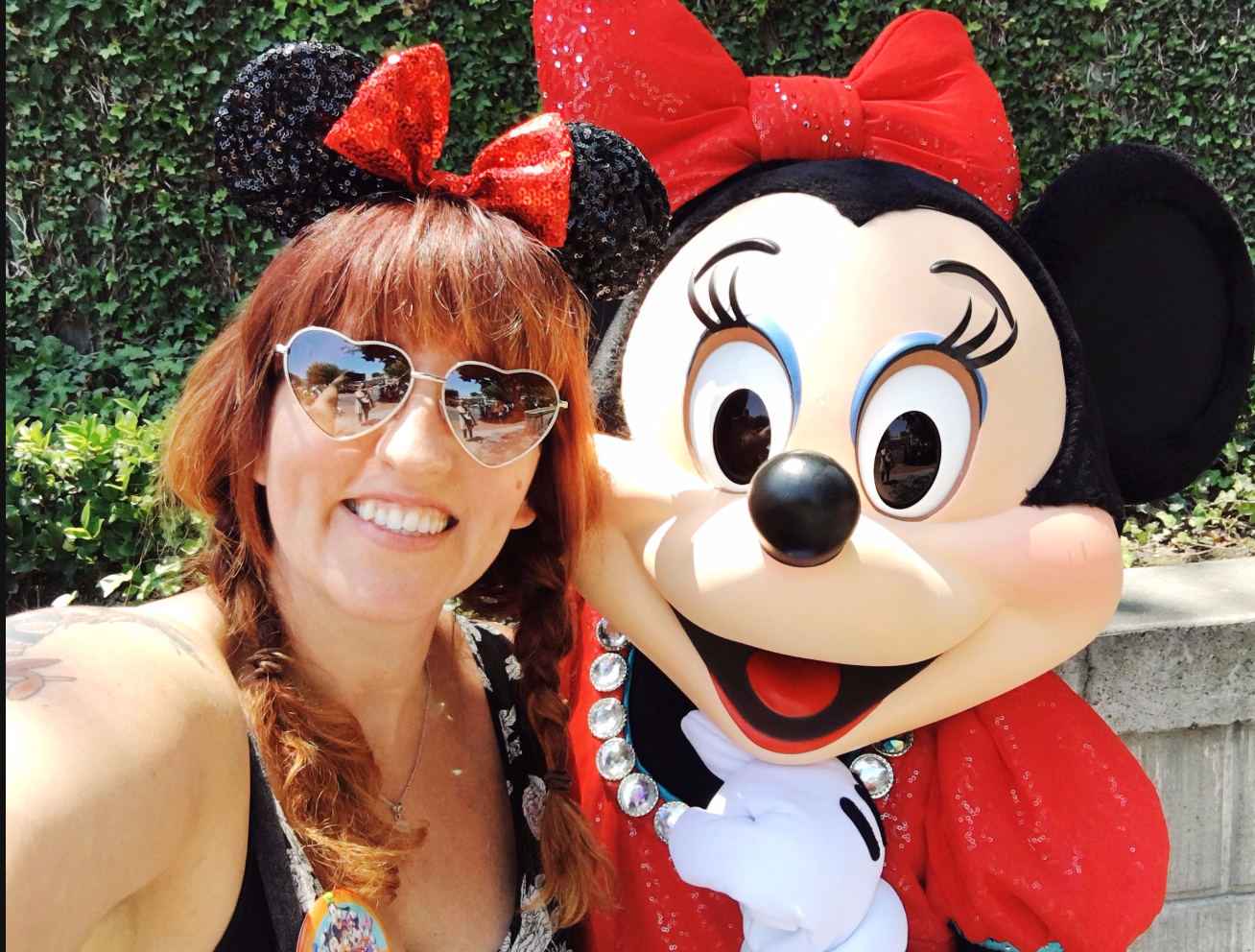 minnie mouse from disneyland