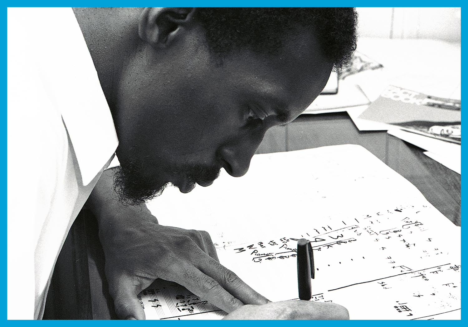 Julius Eastman.  Photo by Donald W Burkhardt