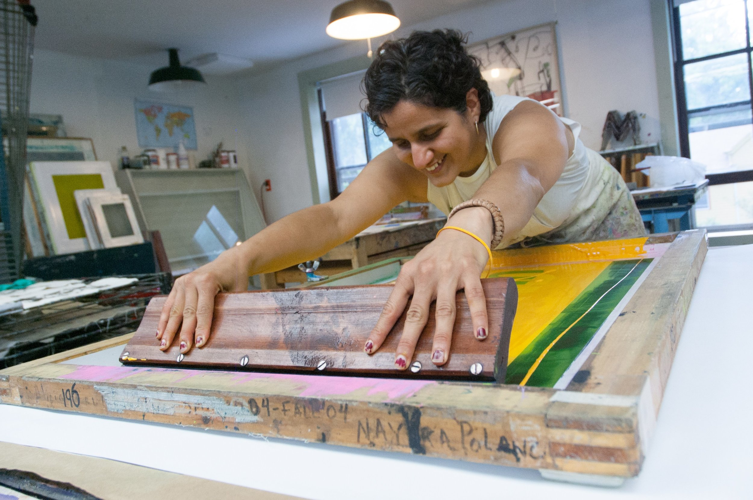Laimah Osman (Photo By: Women's Studio Workshop)