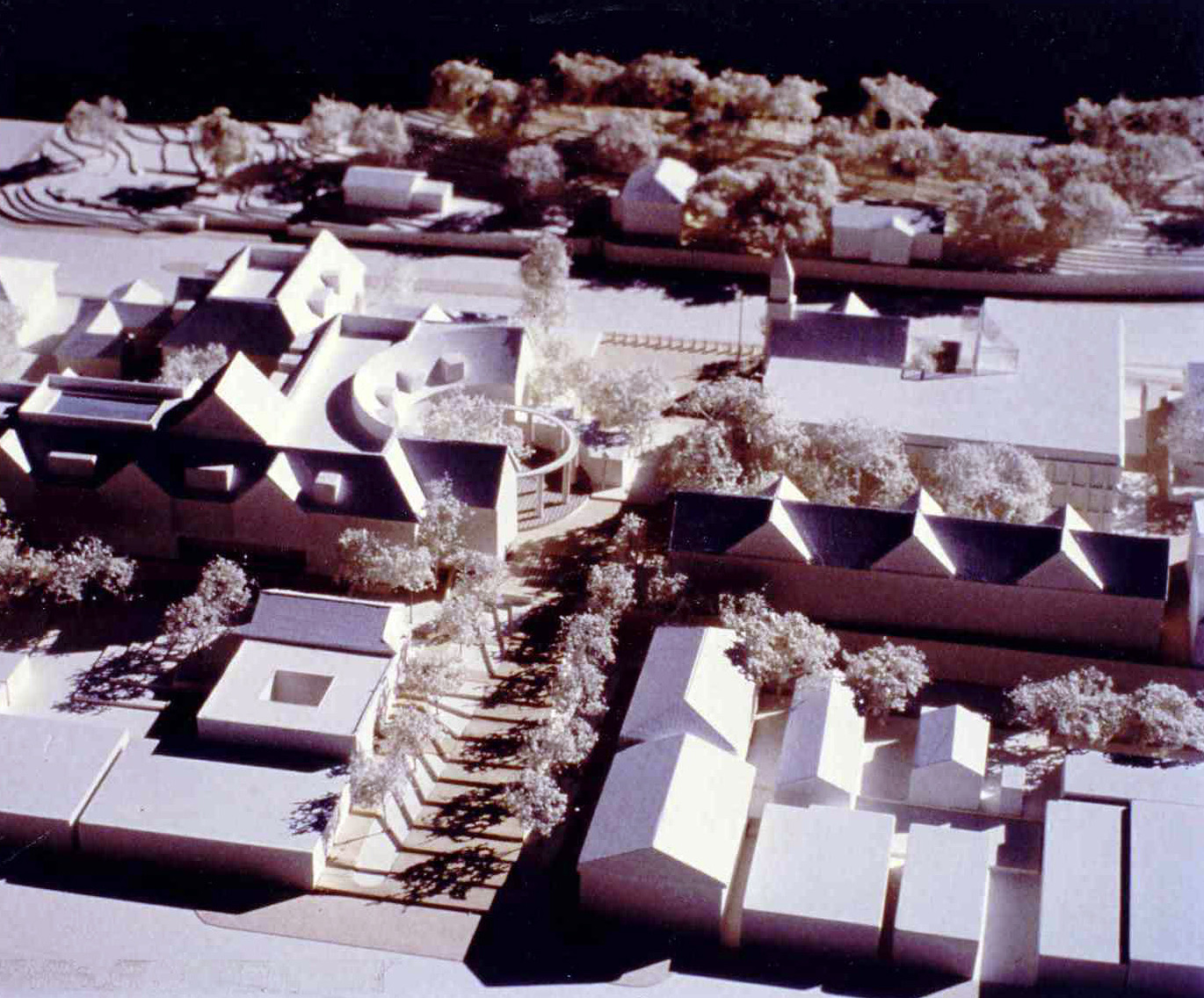 NOVATO CIVIC CENTER DESIGN COMPETITION - AD Architects with Donald Reay, FAIA1st Place Award– Mixed use development creating new downtown in the City of Novato including a Hotel - Conference Center and preservation of a historic church.