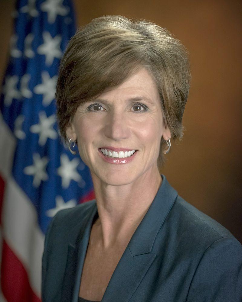 Sally Yates, former United States Attorney General