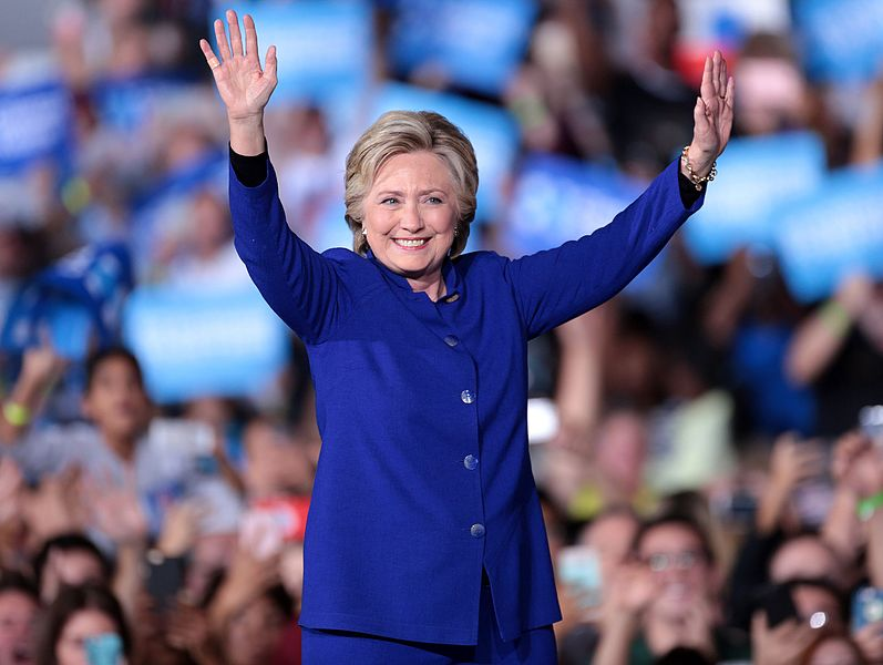 Hillary Rodham Clinton, former United States Secretary of State and First Lady