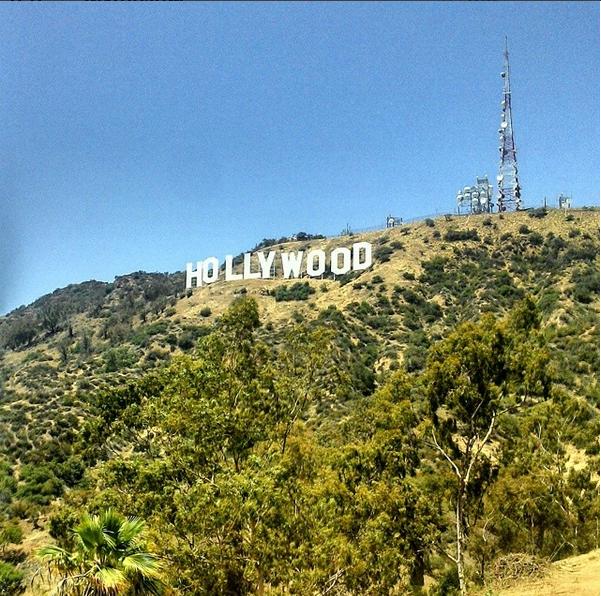 Hollywood sign, Hollywood